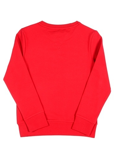 North Of Navy Sweatshirt Kırmızı